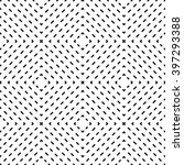 vector modern seamless geometry ... | Shutterstock .eps vector #397293388