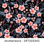 beautiful pattern in small... | Shutterstock .eps vector #397333342