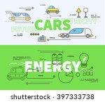 car of future energy...   Shutterstock . vector #397333738
