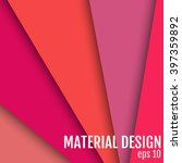 material design vector... | Shutterstock .eps vector #397359892