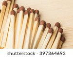 wooden matches. selective focus.... | Shutterstock . vector #397364692