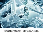 the car engine  engine... | Shutterstock . vector #397364836