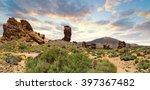 pico del teide  tenerife  spain'... | Shutterstock . vector #397367482