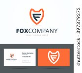 logo and business card template ... | Shutterstock .eps vector #397379272