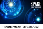 abstract futuristic background... | Shutterstock .eps vector #397380952