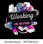 vector illustration of colorful ... | Shutterstock .eps vector #397381312