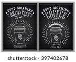 set of vintage posters good... | Shutterstock .eps vector #397402678
