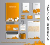 corporate identity template for ... | Shutterstock .eps vector #397404982