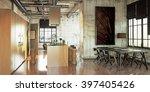 3d rendering loft kitchen | Shutterstock . vector #397405426