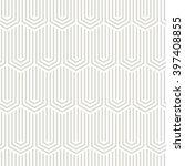 seamless geometric pattern.... | Shutterstock .eps vector #397408855