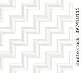 vector zigzag pattern. seamless ... | Shutterstock .eps vector #397410115