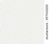 vector zigzag pattern. seamless ... | Shutterstock .eps vector #397410202