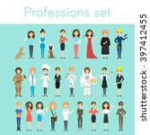 vector set of different... | Shutterstock .eps vector #397412455