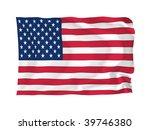 usa. high resolution flag... | Shutterstock . vector #39746380