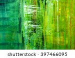 abstract painted canvas. oil... | Shutterstock . vector #397466095