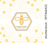 Outline Bee Vector Symbol And...