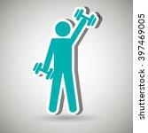 healthy lifestyle design    Shutterstock .eps vector #397469005