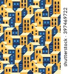 vector seamless pattern with... | Shutterstock .eps vector #397469722