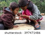 kathmandu   november 02  nepali ... | Shutterstock . vector #397471486