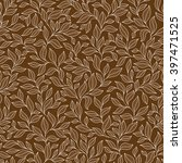 Abstract Beige Seamless Patter...