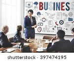 business development... | Shutterstock . vector #397474195