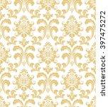 floral pattern. wallpaper... | Shutterstock .eps vector #397475272