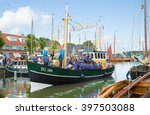 bunschoten spakenburg  the... | Shutterstock . vector #397503088