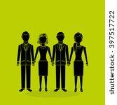 teamwork concept design  | Shutterstock .eps vector #397517722