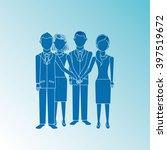 teamwork concept design  | Shutterstock .eps vector #397519672