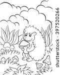 coloring pages. little cute... | Shutterstock . vector #397520266