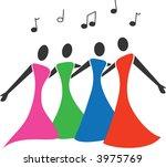 Female Barbershop Quartet...