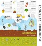 gardening work  farming...   Shutterstock .eps vector #397578775