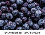 Frozen Blueberrys  Full Frame...