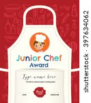 kids cooking class certificate... | Shutterstock .eps vector #397634062