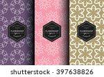 vector set of label design... | Shutterstock .eps vector #397638826