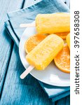 homemade refreshing popsicle... | Shutterstock . vector #397658308