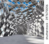 architectural design of modern... | Shutterstock . vector #397670056