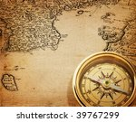compass | Shutterstock . vector #39767299