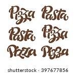 vector illustration  food... | Shutterstock .eps vector #397677856