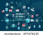 internet of things  iot ... | Shutterstock .eps vector #397678135