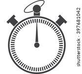stopwatch icon jpg   Shutterstock .eps vector #397681042