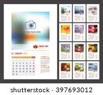 Design Of Wall Monthly Calendar ...