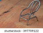 steel chair | Shutterstock . vector #397709122