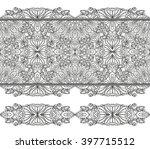 mandala seamless pattern...