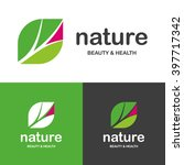nature. beauty and health logos | Shutterstock .eps vector #397717342