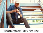 young urban businessman... | Shutterstock . vector #397725622