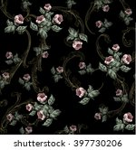 Small Flowers Pattern  With...