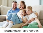 siblings and parents | Shutterstock . vector #397735945