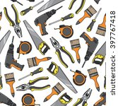 tools and electrical equipment...   Shutterstock .eps vector #397767418