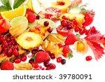 fresh fruits | Shutterstock . vector #39780091